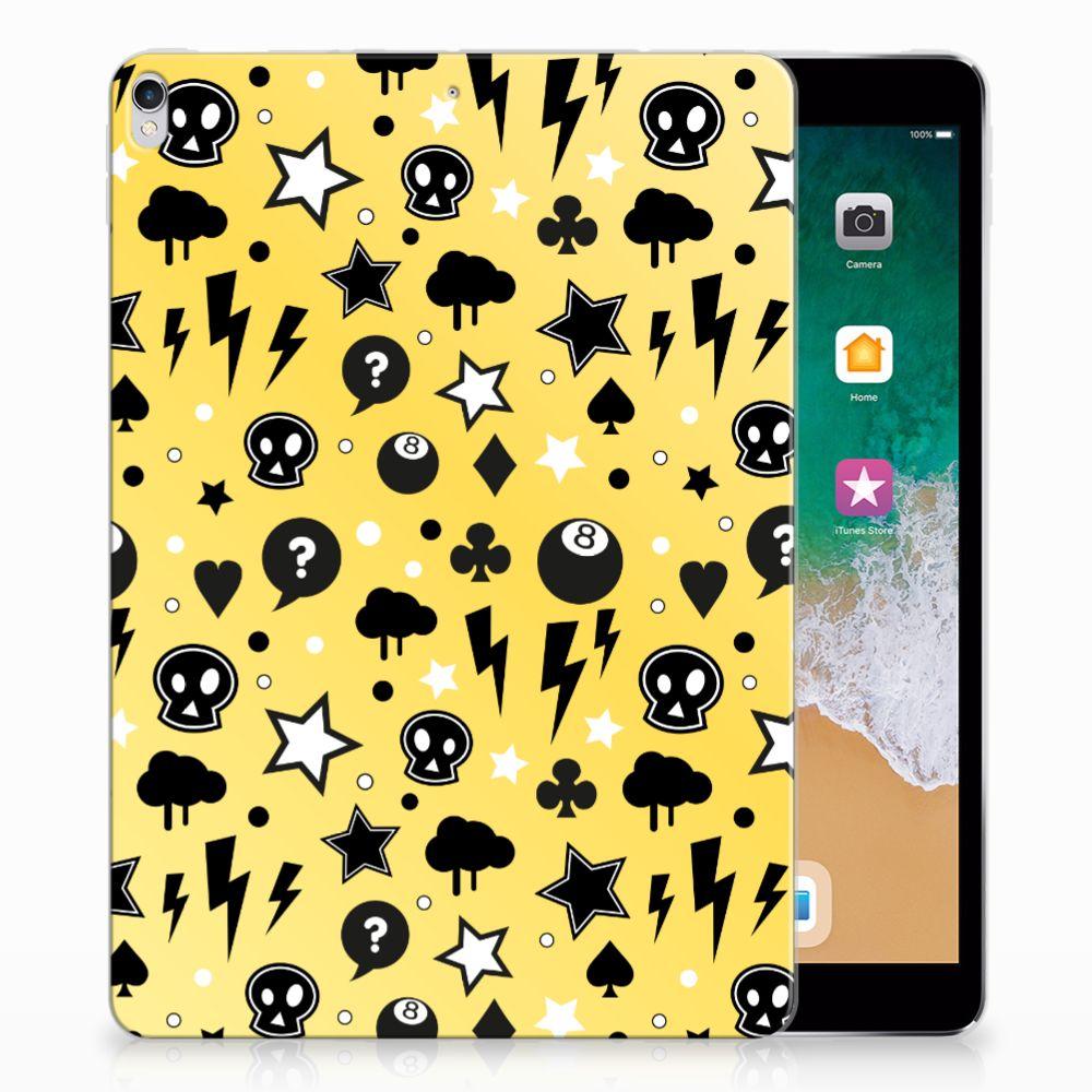 Tablet BackCover Apple iPad Pro 10.5 Punk Geel
