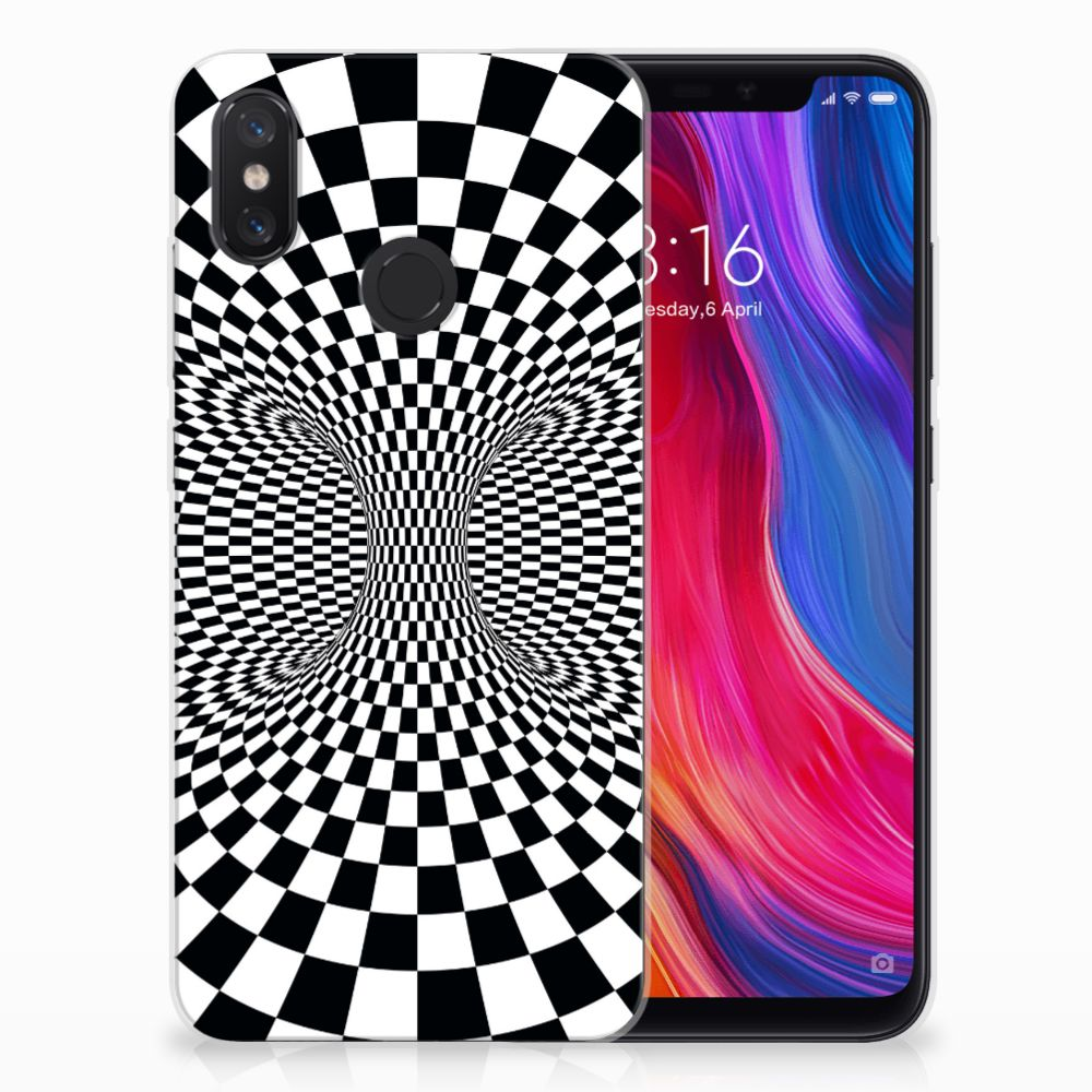Xiaomi Mi 8 TPU Hoesje Illusie