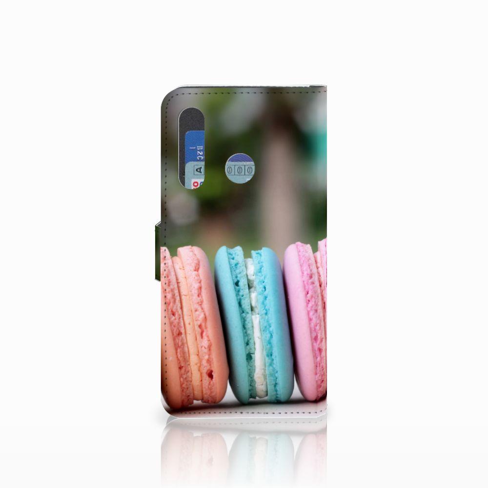 Huawei Nova 4 Book Cover Macarons
