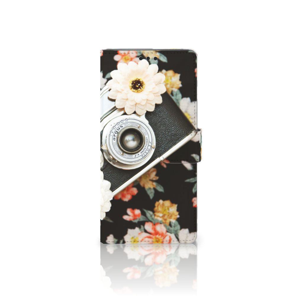 Sony Xperia XA Ultra Uniek Boekhoesje Vintage Camera