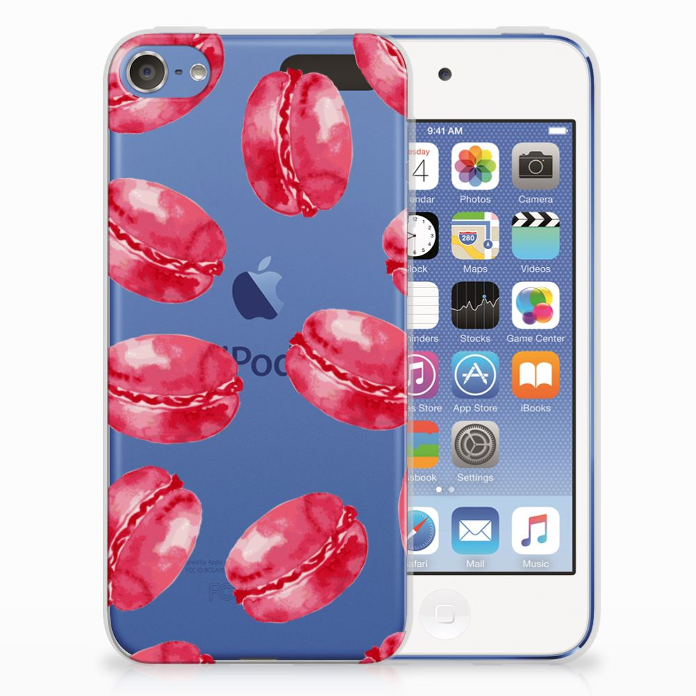 Apple iPod Touch 5 | 6 TPU Hoesje Design Pink Macarons