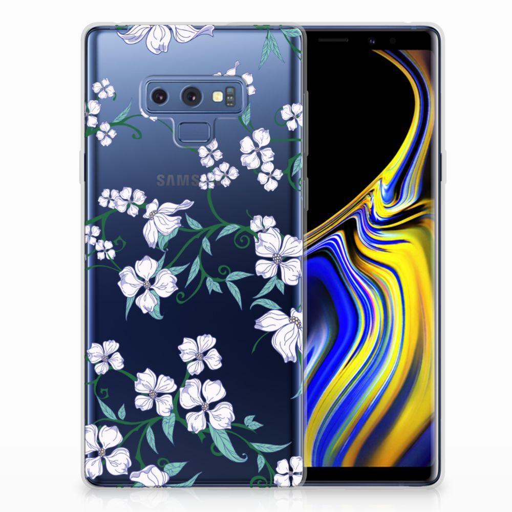 Samsung Galaxy Note 9 Uniek TPU Hoesje Blossom White