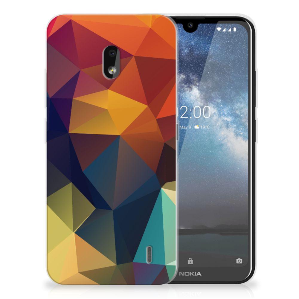 Nokia 2.2 TPU Hoesje Polygon Color