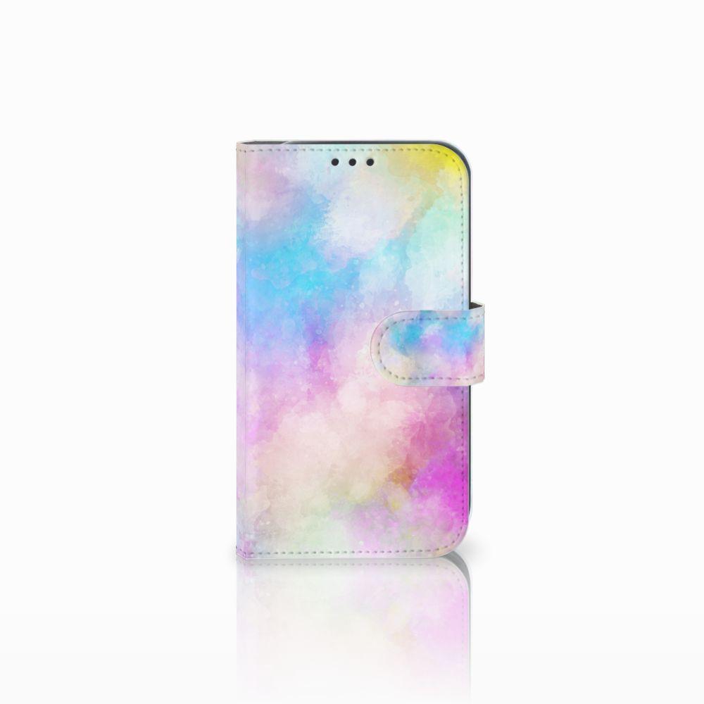 Samsung Galaxy Xcover 4 Uniek Boekhoesje Watercolor Light