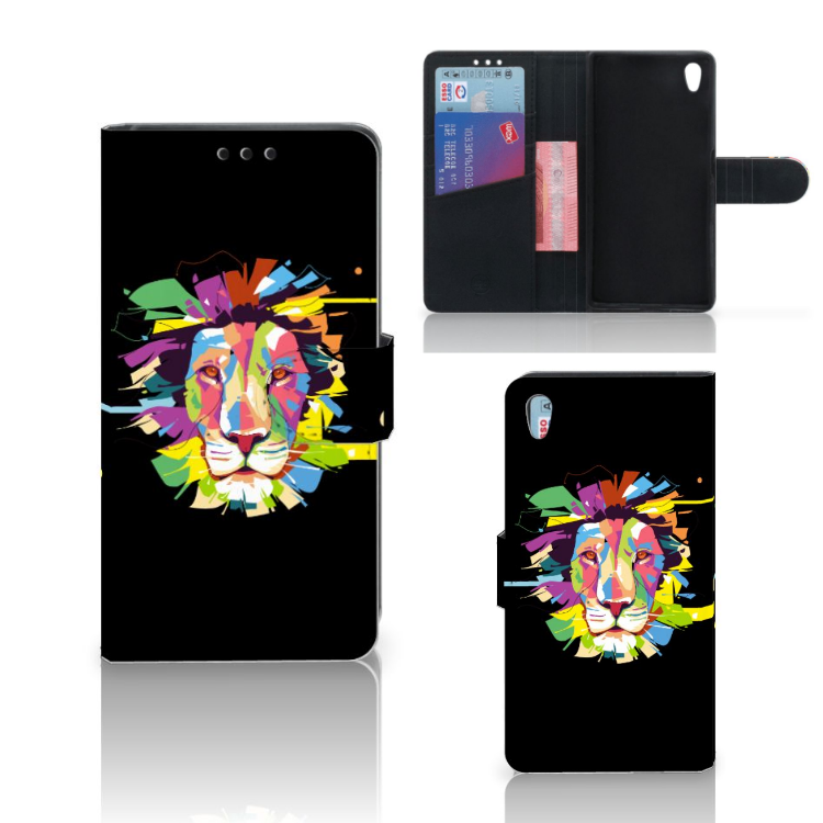 Sony Xperia Z5 | Z5 Dual Leuk Hoesje Lion Color