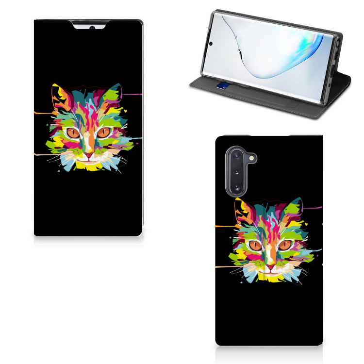 Samsung Galaxy Note 10 Magnet Case Cat Color
