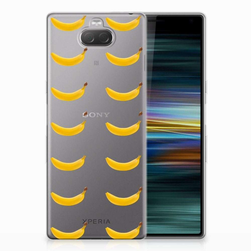 Sony Xperia 10 Plus Siliconen Case Banana