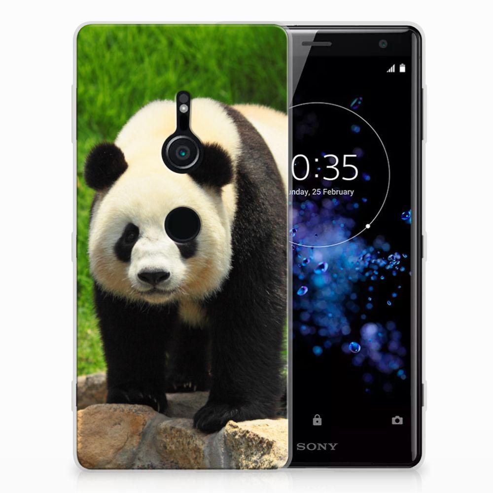 Sony Xperia XZ2 TPU Hoesje Design Panda