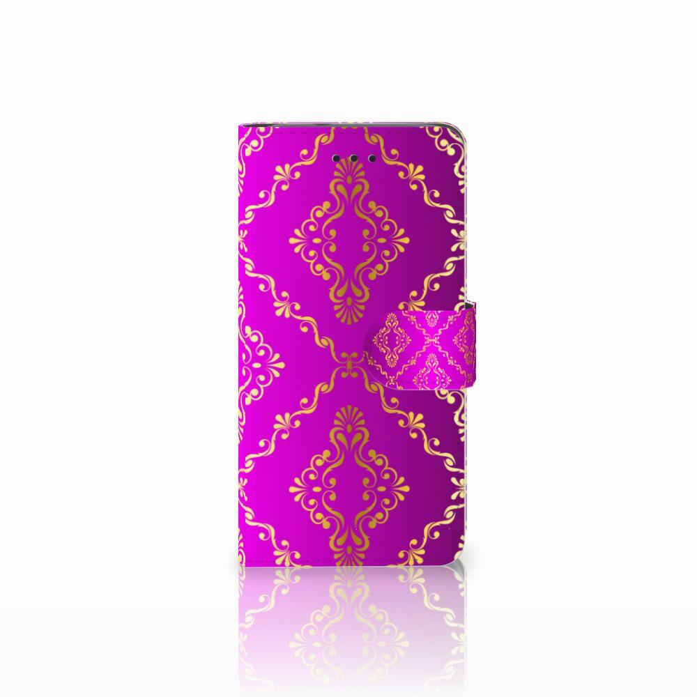 Huawei Y3 2017 Uniek Boekhoesje Barok Roze