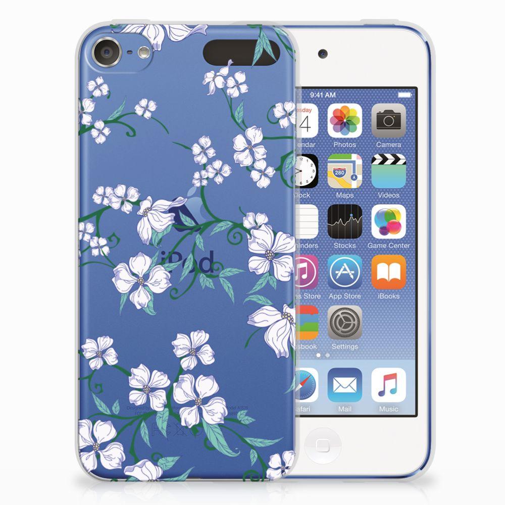 Apple iPod Touch 5 | 6 Uniek TPU Hoesje Blossom White