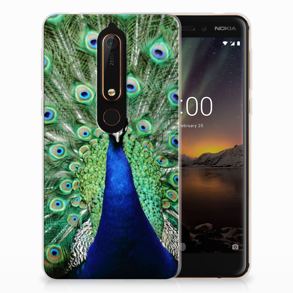 Nokia 6 (2018) TPU Hoesje Pauw