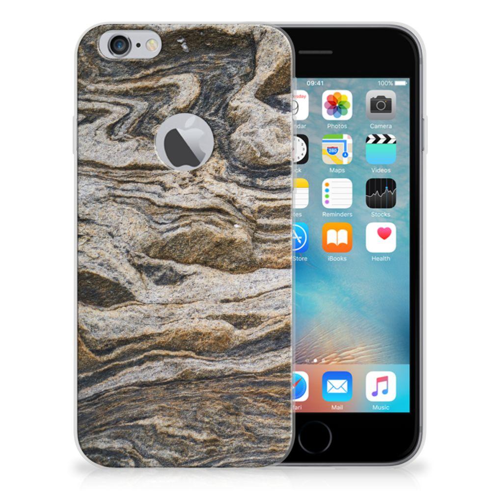 Apple iPhone 6 Plus | 6s Plus TPU Siliconen Hoesje Steen