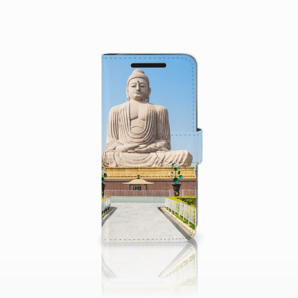 HTC One M9 Flip Cover Boeddha