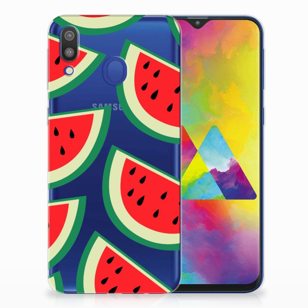 Samsung Galaxy M20 (Power) Siliconen Case Watermelons