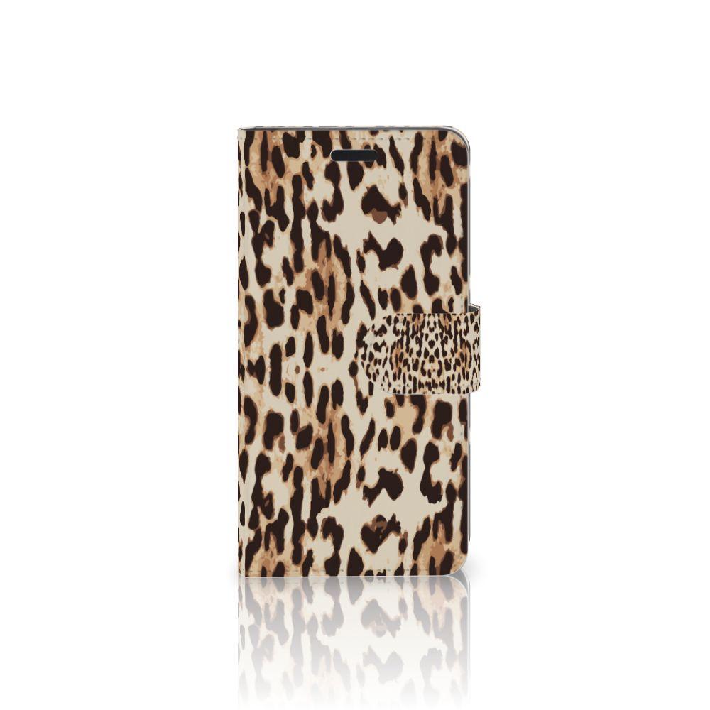 HTC 10 Uniek Boekhoesje Leopard