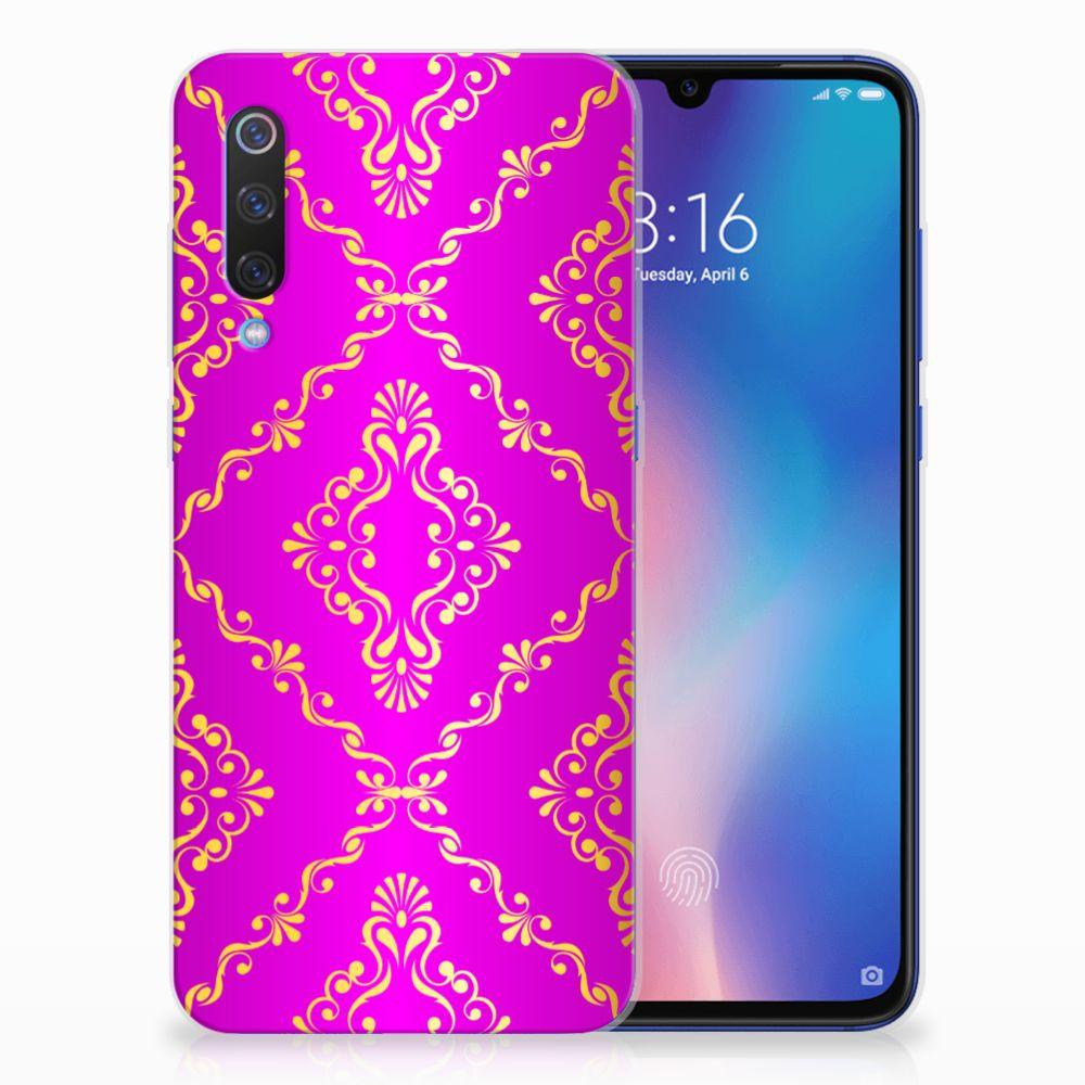 Siliconen Hoesje Xiaomi Mi 9 Barok Roze