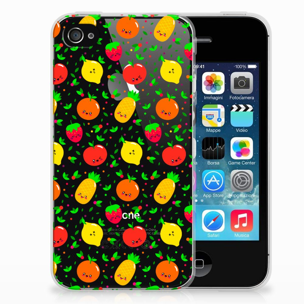 Apple iPhone 4 | 4s Siliconen Case Fruits