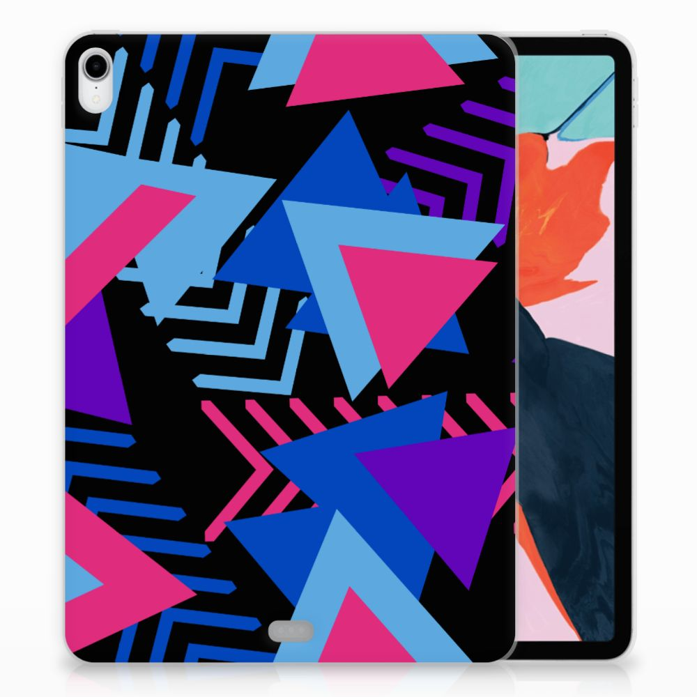 Apple iPad Pro 11 inch (2018) TPU Hoesje Funky Triangle