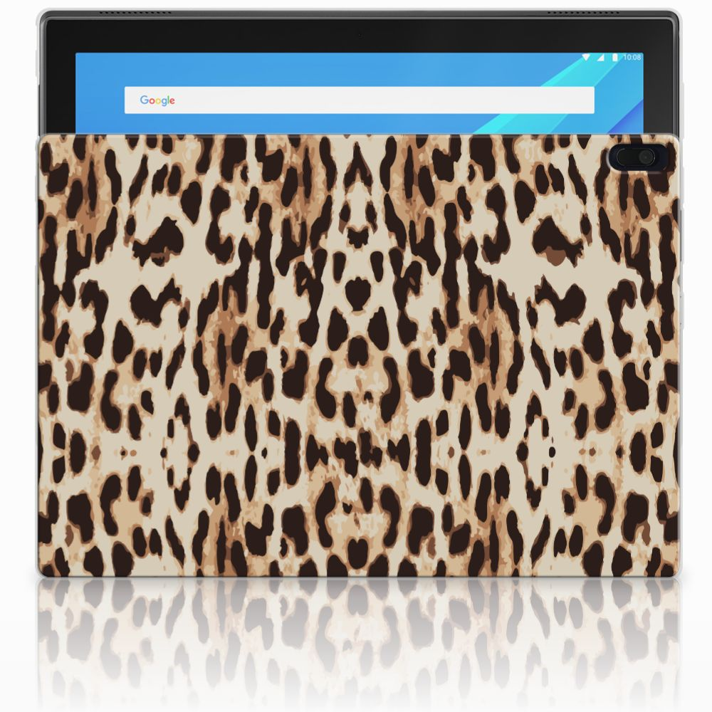 Lenovo Tab 4 10.1 Uniek Tablethoesje Leopard