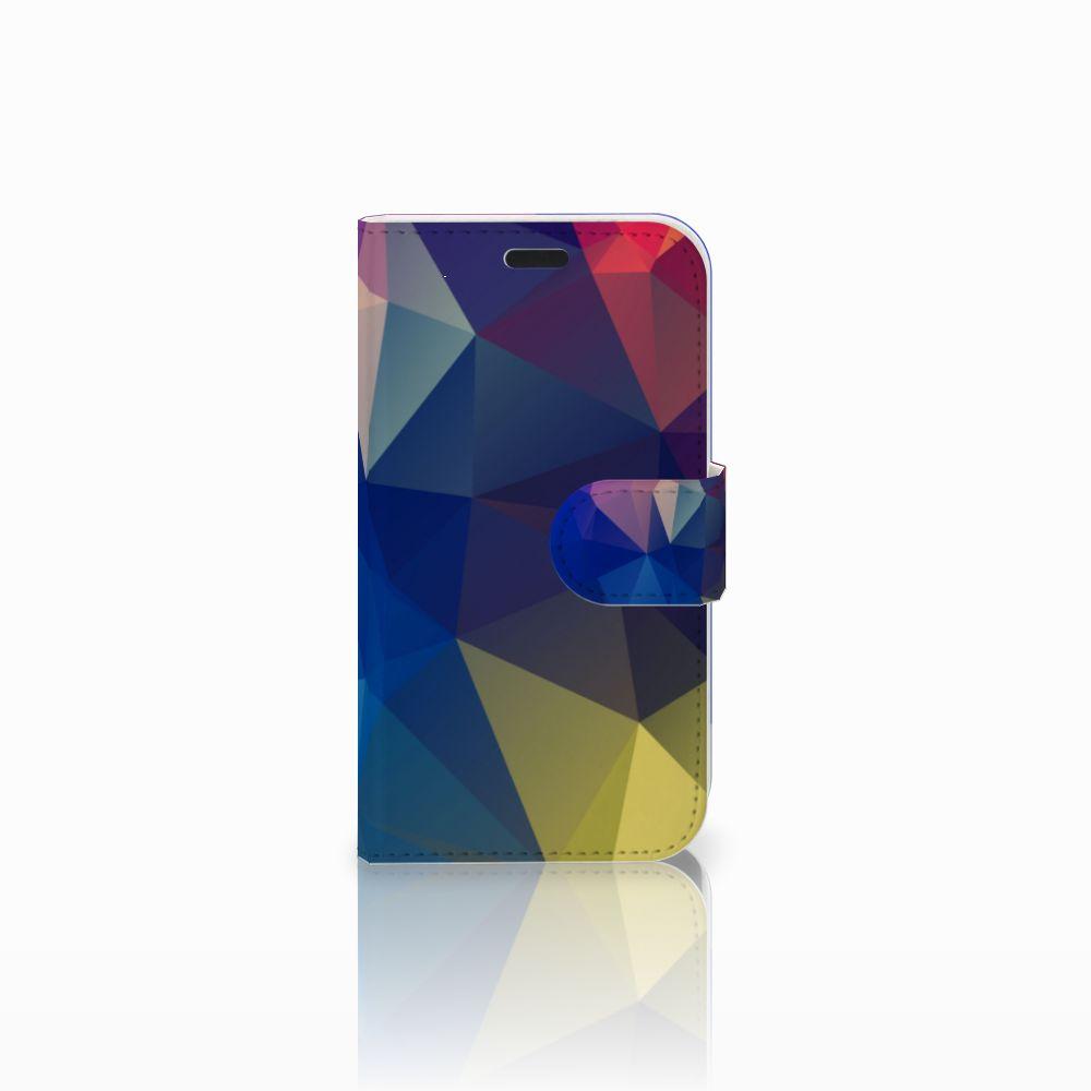 LG L Fino Bookcase Polygon Dark