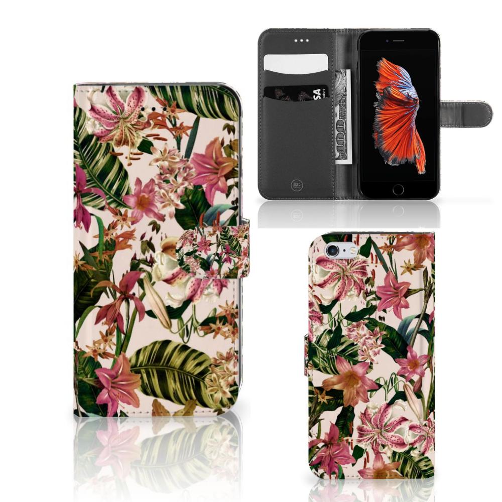 Apple iPhone 6 Plus | 6s Plus Hoesje Flowers
