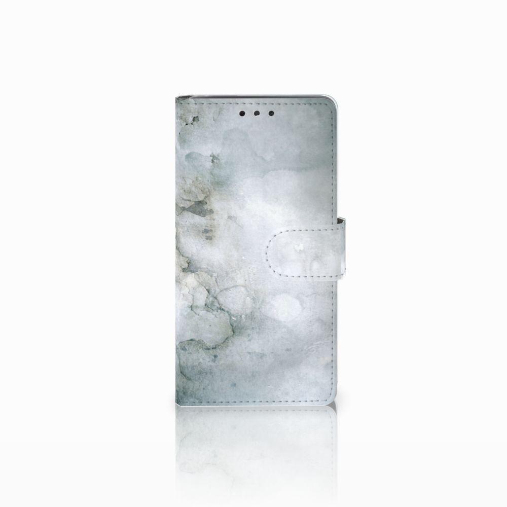 LG Bello 2 Uniek Boekhoesje Painting Grey