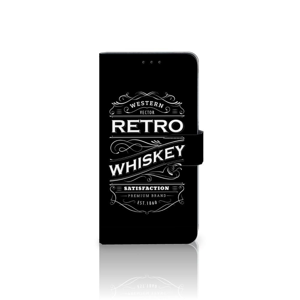 Samsung Galaxy A8 Plus (2018) Boekhoesje Design Whiskey