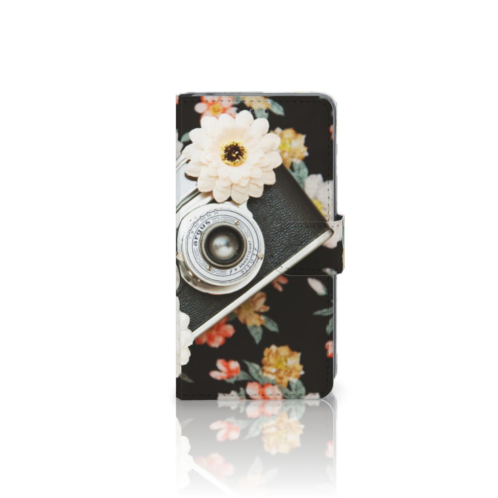Sony Xperia Z2 Uniek Boekhoesje Vintage Camera
