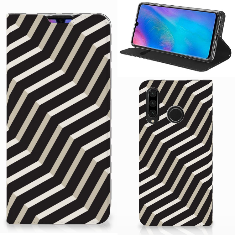 Huawei P30 Lite New Edition Stand Case Illusion