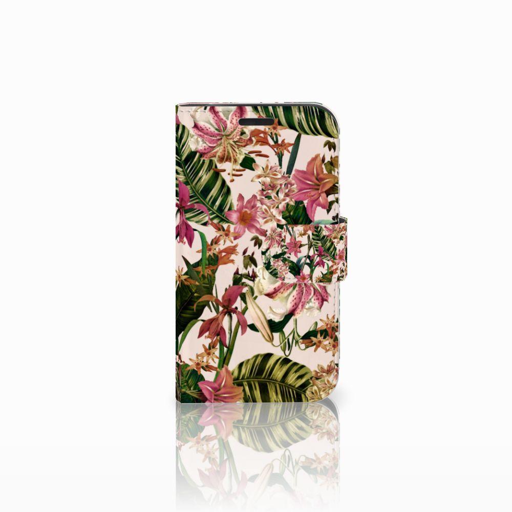 LG K4 Uniek Boekhoesje Flowers