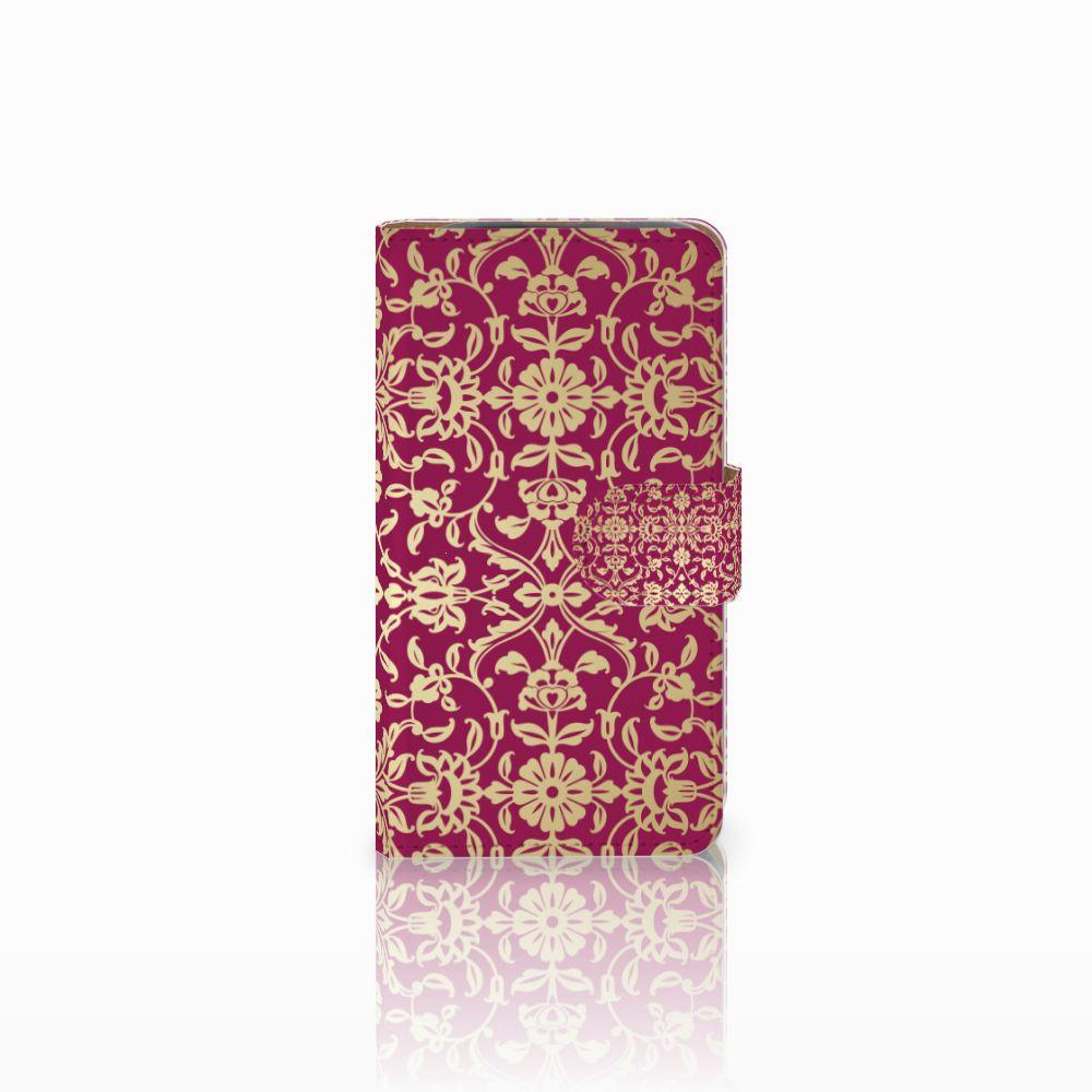 HTC Desire 310 Boekhoesje Design Barok Pink