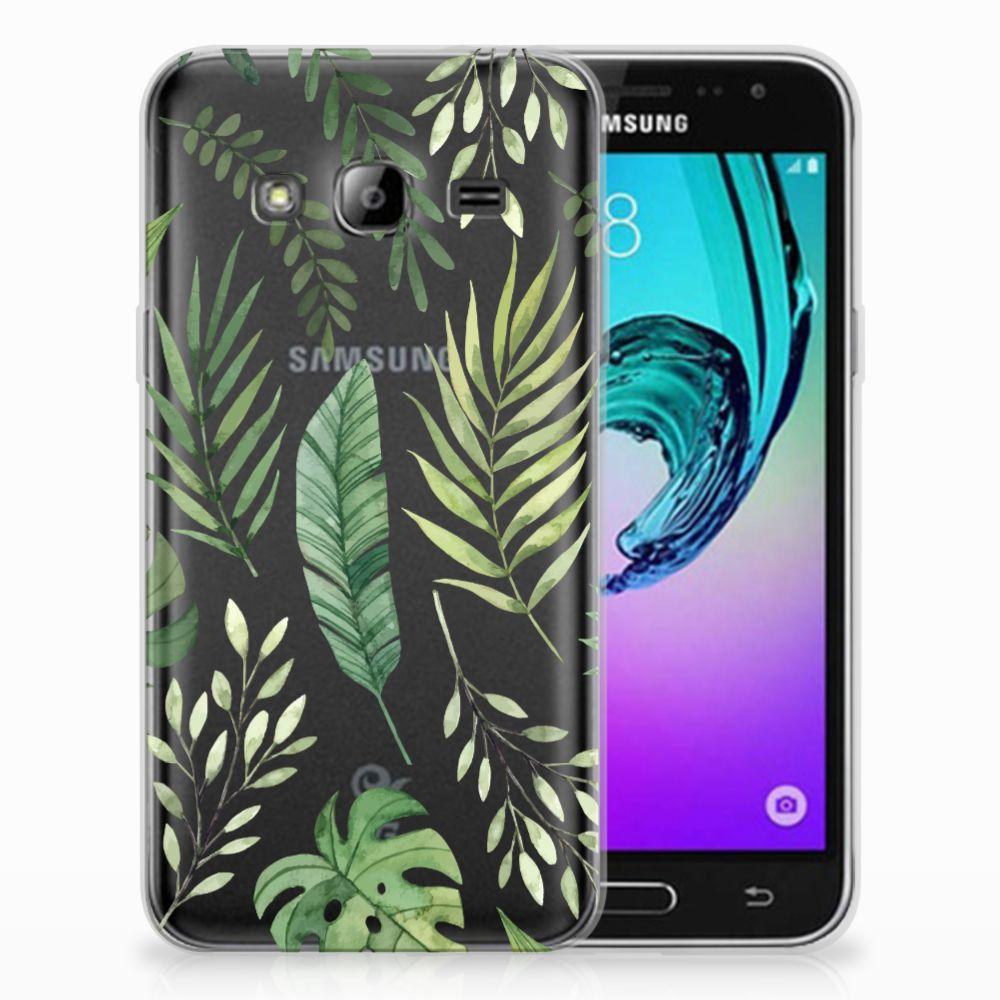 Samsung Galaxy J3 2016 TPU Case Leaves