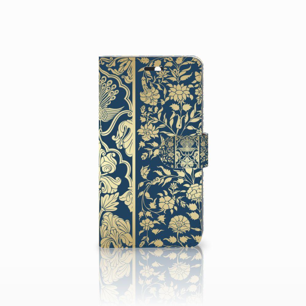 Huawei Y6 II | Honor 5A Boekhoesje Golden Flowers