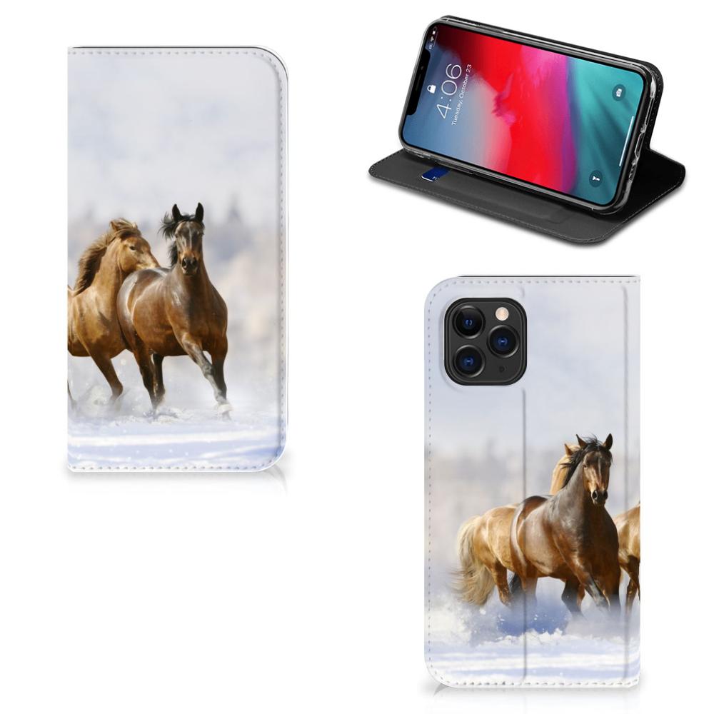 Apple iPhone 11 Pro Hoesje maken Paarden