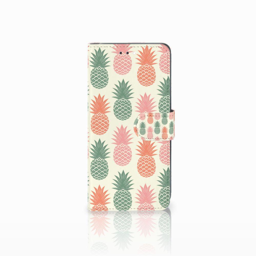 Huawei Y7 2018 Boekhoesje Design Ananas