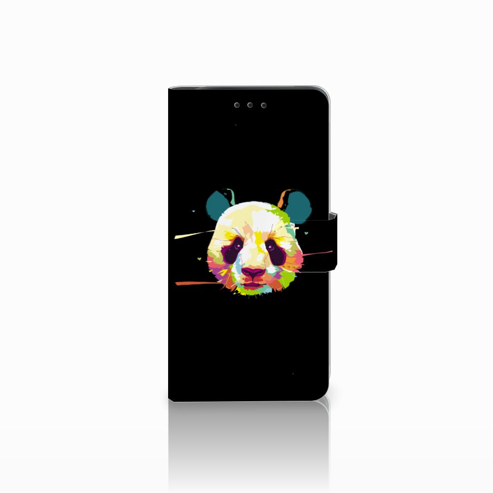 Samsung Galaxy J6 Plus (2018) Boekhoesje Design Panda Color