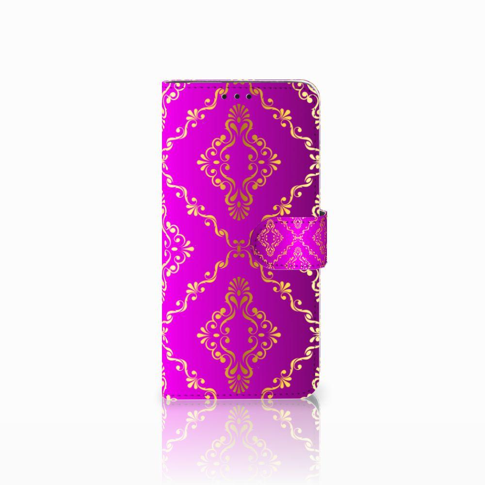 Huawei Nova 4 Uniek Boekhoesje Barok Roze
