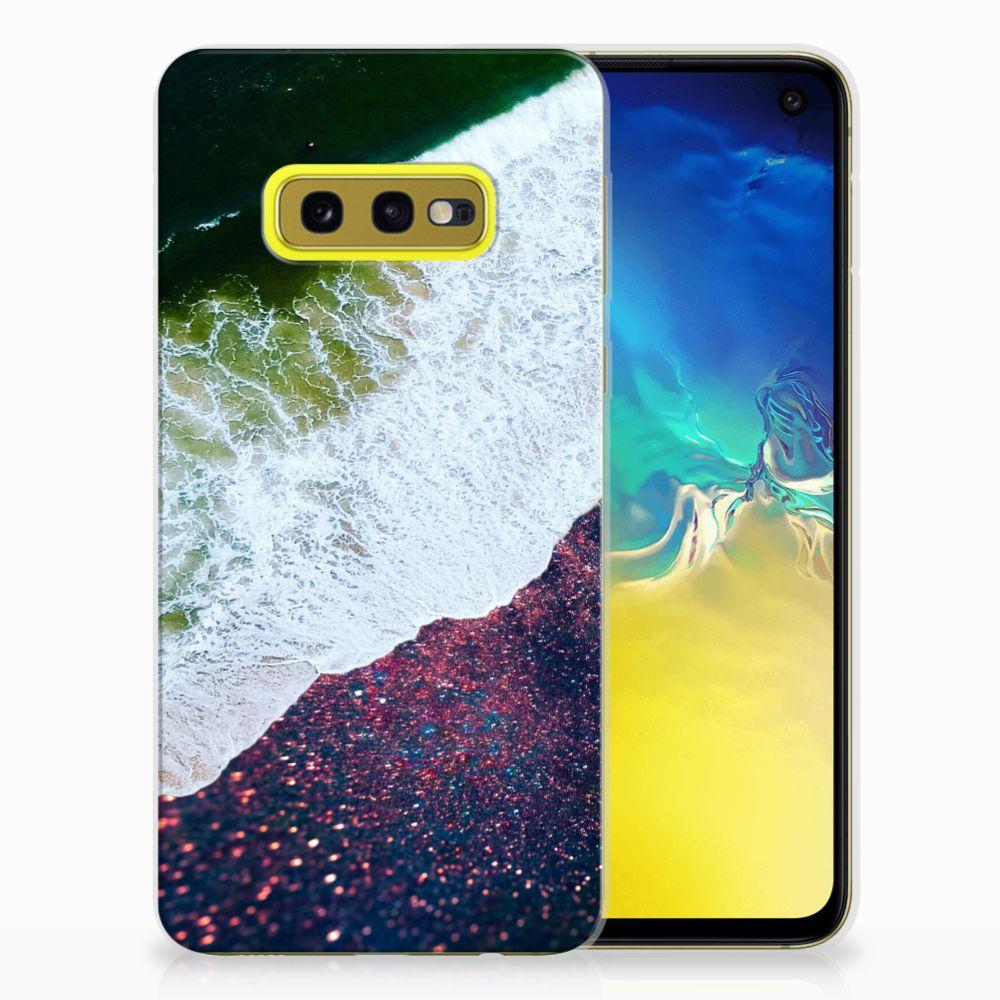 Samsung Galaxy S10e TPU Hoesje Sea in Space