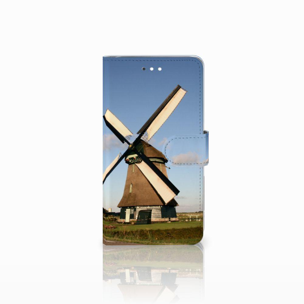 Huawei Ascend G7 Uniek Boekhoesje Molen