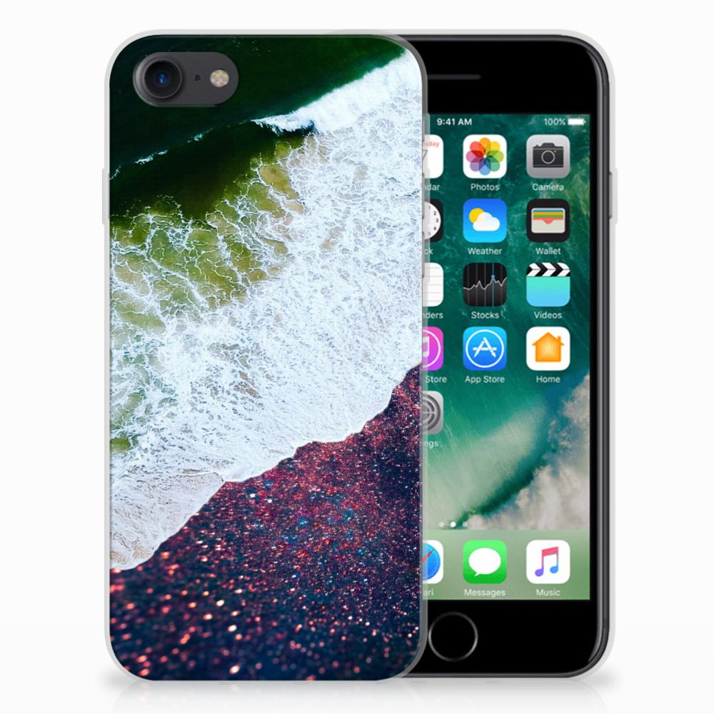iPhone SE (2020) | 7/8 TPU Hoesje Sea in Space