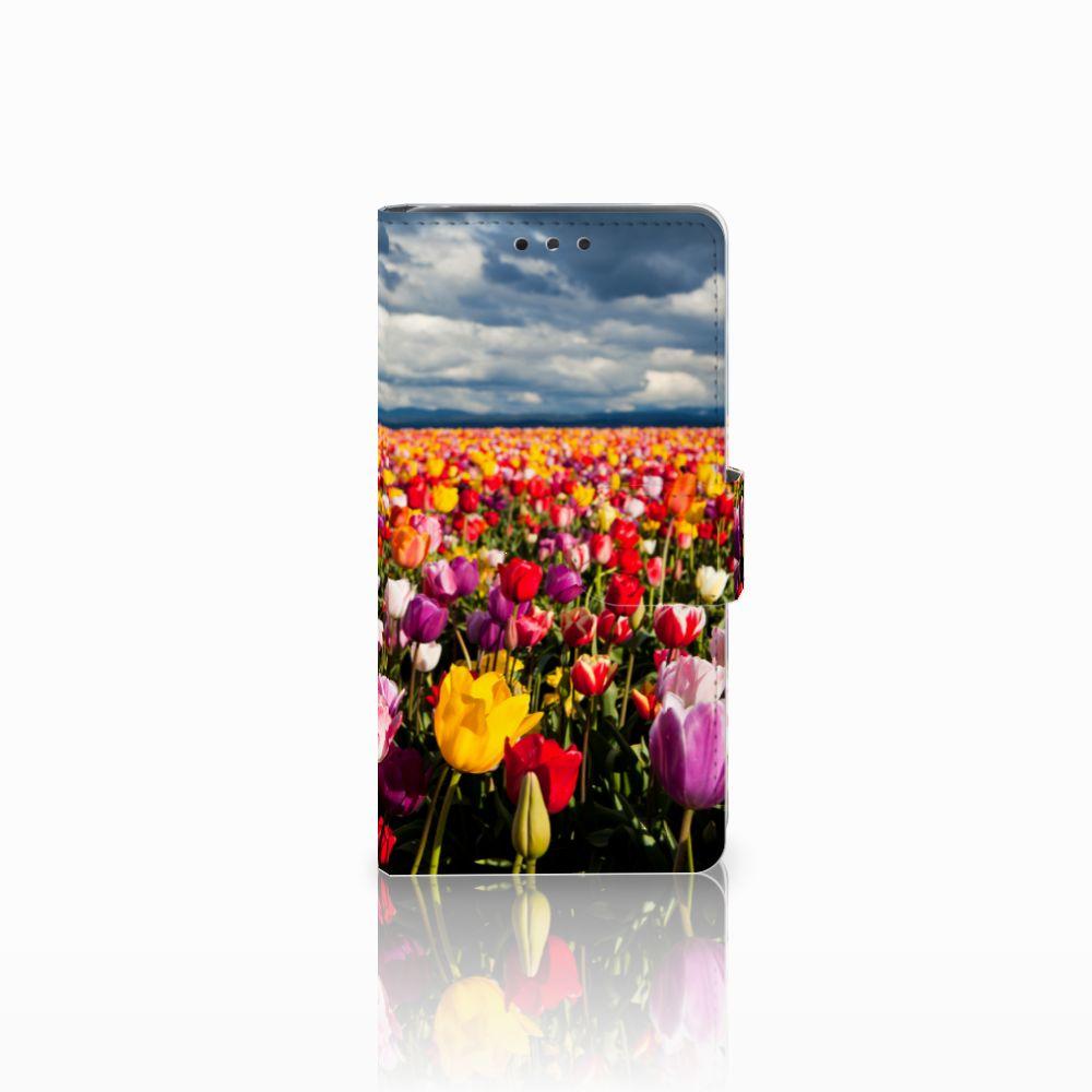 LG Bello 2 Uniek Boekhoesje Tulpen