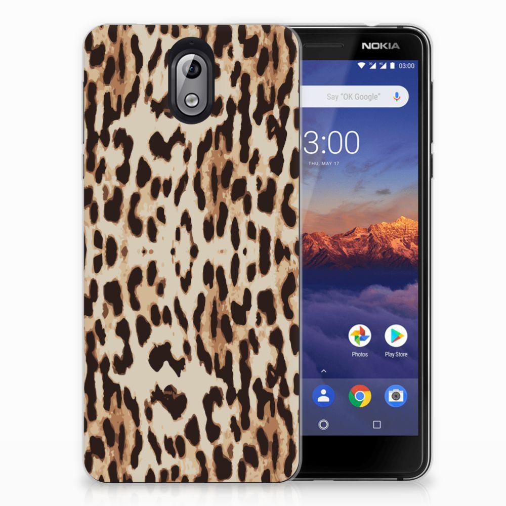 Nokia 3.1 (2018) TPU Hoesje Leopard