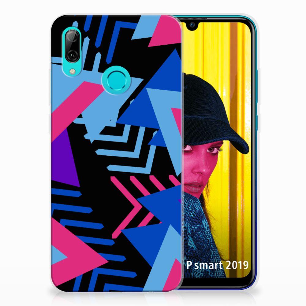 Huawei P Smart 2019 TPU Hoesje Funky Triangle