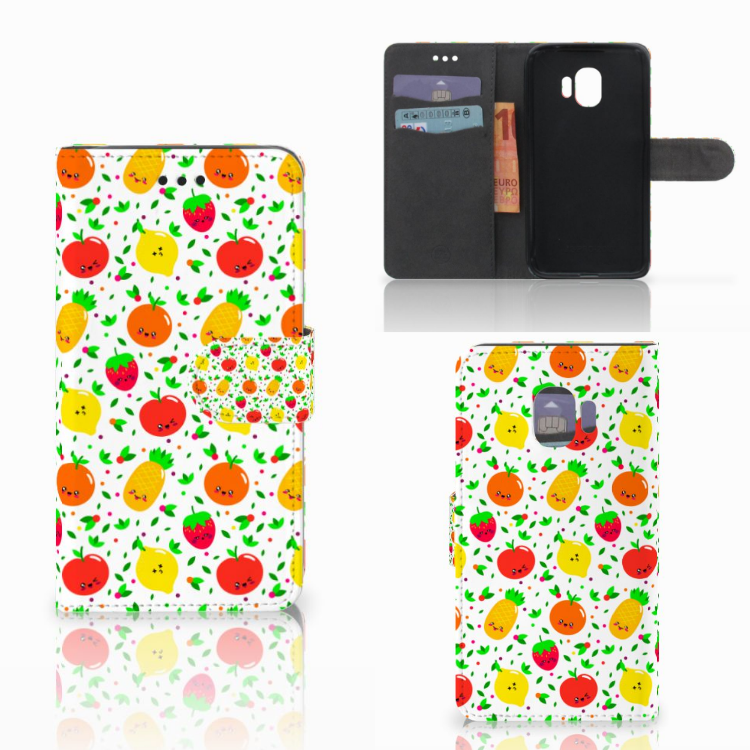 Samsung Galaxy J2 Pro 2018 Book Cover Fruits