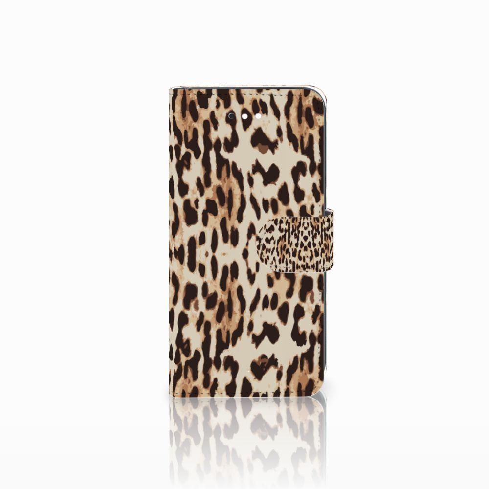 LG K11 Uniek Boekhoesje Leopard