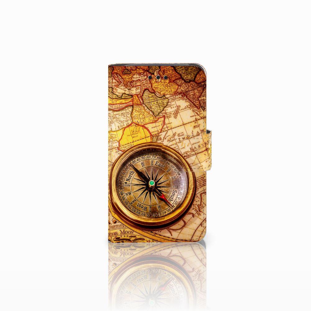 Samsung Galaxy Core i8260 Boekhoesje Design Kompas