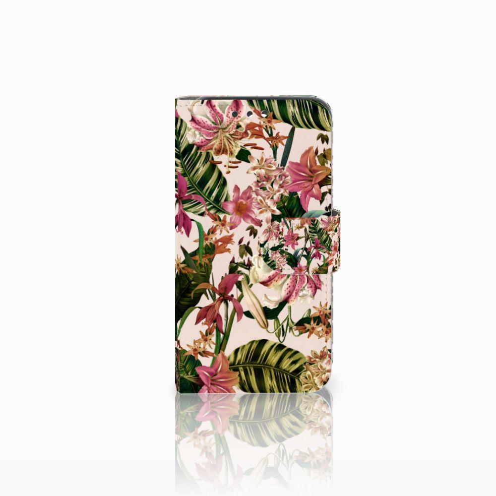 Huawei Y5 Y560 Uniek Boekhoesje Flowers
