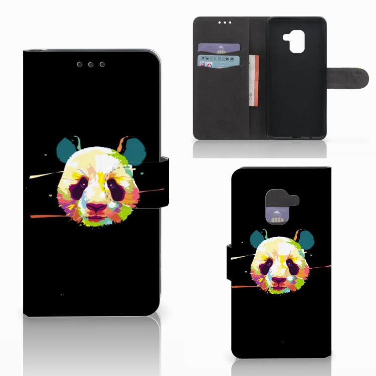 Samsung Galaxy A8 2018 Leuke Hoesje Panda Color