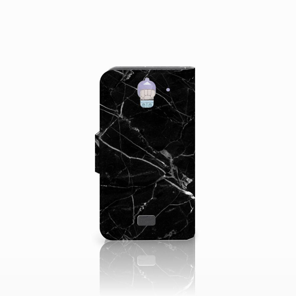Huawei Y360 Bookcase Marmer Zwart