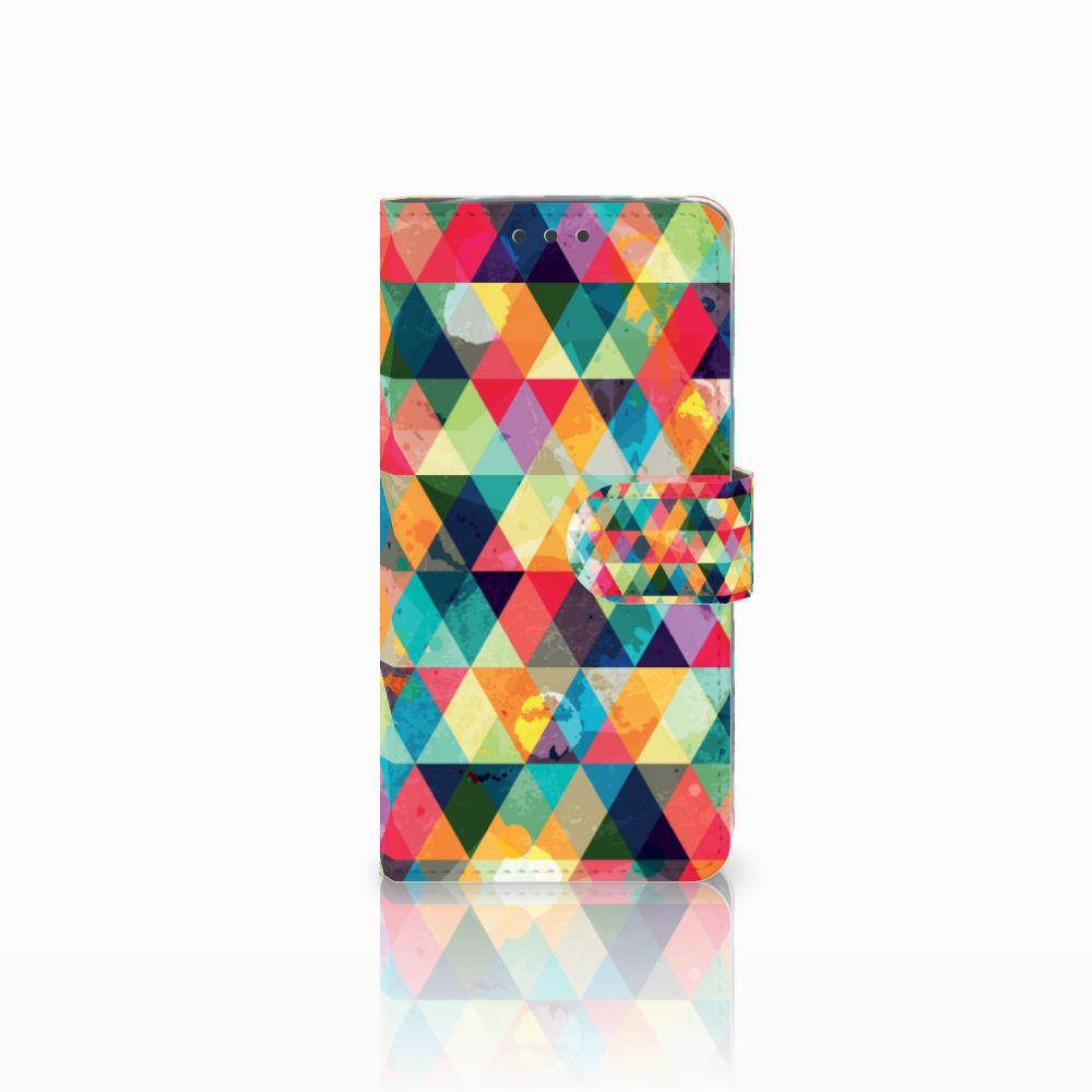 LG G5 Uniek Boekhoesje Geruit